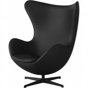 Fritz Hansen - Egg Lounge Armchair, leather spectrum