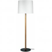 Maigrau - Miyu 140 Floor Lamp White / Oak nature