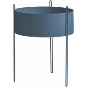 Woud - Blumentopf Pidestall Blau