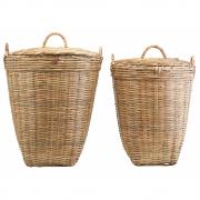 Panier à linge Tradition (lot de 2 tailles) - Meraki
