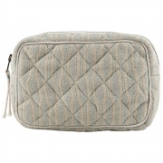 Meraki - Makeup bag (Pale green, Beige)