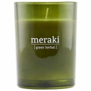 Meraki - Duftkerze, Green herbal