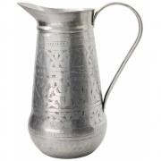 Meraki - Althea Jug, Antique Silver, Handmade