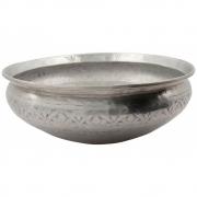 Meraki - Althea Basin, Antique Silver, Handmade, Ø 42 cm