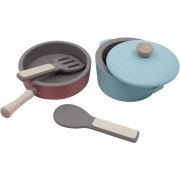 Sebra - Wooden kitchen tools set