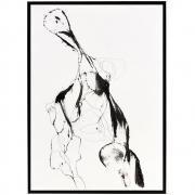 House Doctor - Ballet Illustration with Frame