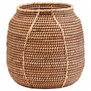 House Doctor - Azeema Basket H.37 cm, Ø38 cm