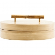 House Doctor - Bamboo Storage with Lid