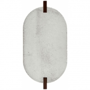 House Doctor - Truvet bases para copos, oval