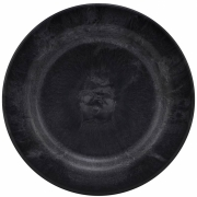 House Doctor - Serveur Teller, 4 Stck., Schwarz Ø 18 cm