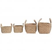 House Doctor - Sikar Baskets, Set of 4 pcs