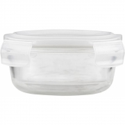 House Doctor - Round Storage with lid, Set of 2 pcs, small