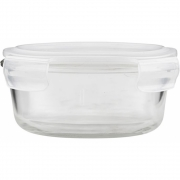 House Doctor - Round Storage with lid, Set of 2 pcs, large