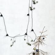 House Doctor - LED-Glühbirne Schwarz für Lichtgirlandenfunktion