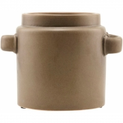 House Doctor - Bundi Vase Ø 23 cm, brown