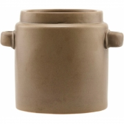 House Doctor - Bundi Vase Ø 20 cm, brown