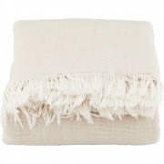 Couverture Alice, beige - House Doctor