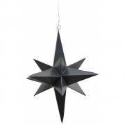 House Doctor - 3 Dimensional Star, black