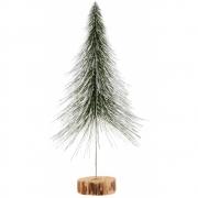 House Doctor - Spinkle Weihnachtsbaum H. 36 cm, Natur