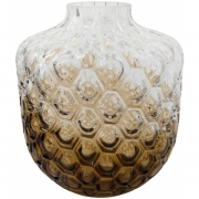 House Doctor - Art Deco Vaso, castanho