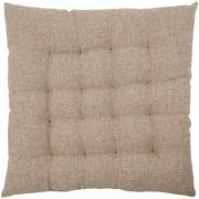 House Doctor - Fine Seat Cushion, Sand, 50x50 cm