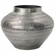 House Doctor - Arti Vaso antiguidade prata, A.12 cm, Ø16 cm