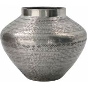 House Doctor - Arti Vaso antiguidade prata, A.18 cm, Ø23 cm