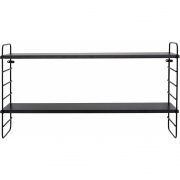 Bloomingville - North Shelf Black Iron