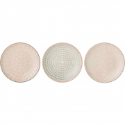 Bloomingville - Cécile Plate small Multi-color Stoneware
