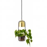 Bloomingville - Pendant 101 Lamp Gold Metal