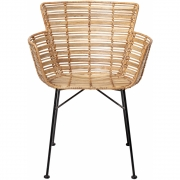 Bloomingville - Coast Lounge Chair Nature Rattan