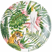 Bloomingville - Moana Plate Multi-color Stoneware
