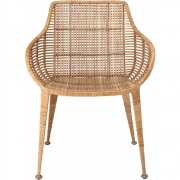 Bloomingville - Amira Lounge Chair Nature Rattan