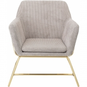 Bloomingville - Bass Lounge Chair Nature Polyester