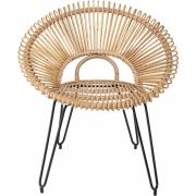 Bloomingville - Lounge Chair Nature Rattan