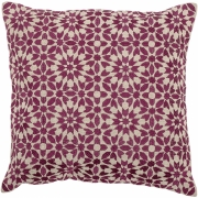 Bloomingville - Cushion 103 Purple Cotton