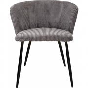 Bloomingville - Marley Lounge Chair Grey Polyester
