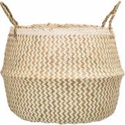 Bloomingville - Basket 113, Nature, Seagrass