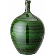 Bloomingville - Vase 106, Green, Stoneware