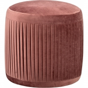 Bloomingville - Pleat Pouf rose