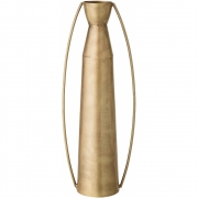 Bloomingville - Vase 111, Brass, Metal