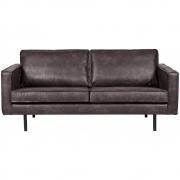 BePureHome - Rodeo Sofa 2,5-Sitzer Schwarz