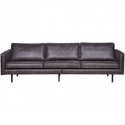 BePureHome - Rodeo Sofa 3-Sitzer Schwarz