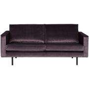 BePureHome - Rodeo Samt Sofa 2,5-Sitzer
