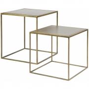 BePureHome - Metallic Side Table Set of 2