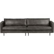 BePureHome - Rodeo Classic Sofa 3-Sitzer Schwarz
