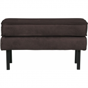 BePureHome - Rodeo Hocker Schwarz