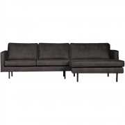Be Pure Home - Rodeo Sofa with Chaise Longue