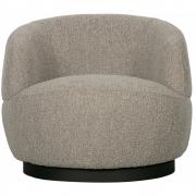 BePureHome - Woolly Sessel mit Drehsockel
