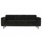 BePureHome - Canapé 3 places Statements Flat Rib